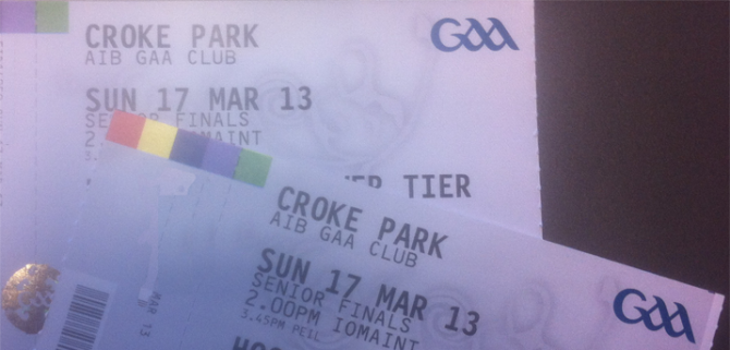 Win Two Tickets To Support Ballymun Kickhams On Sunday