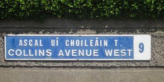 Walsh, Ferguson, Hardiman, Joyce, O'Neachtain Road Signage