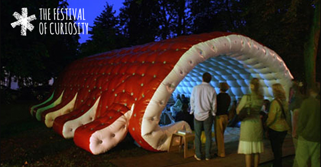 Botanic Gardens Inflatable Cinema