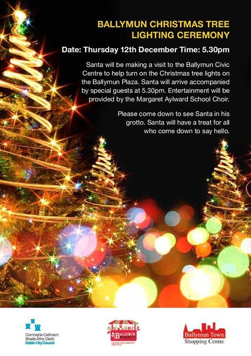Ballymun Christmas Tree Lighting Ceremony