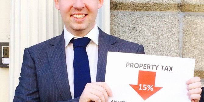 15% reduction in Property Tax Agreed