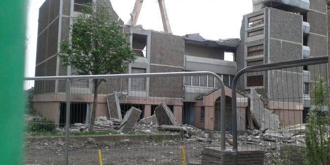Ballymun Flats Demolition Update