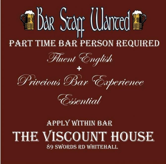 Part Time Role – The Viscount