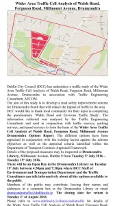 Drumcondra Traffic Study